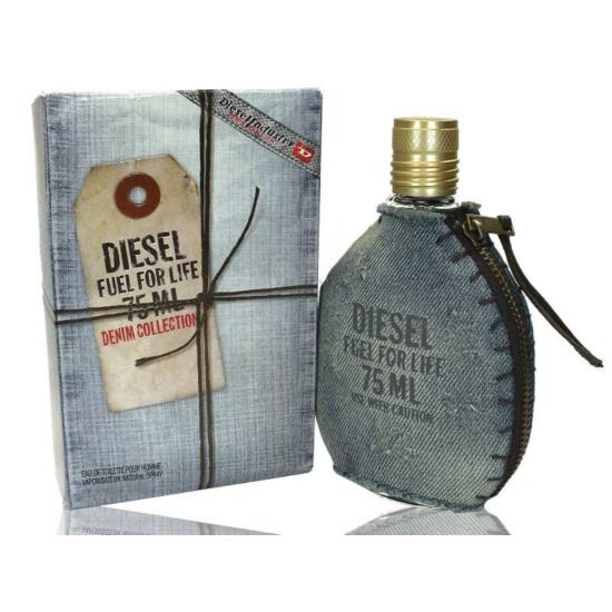 diesel fuel for life denim collection homme 75ml edt. Black Bedroom Furniture Sets. Home Design Ideas